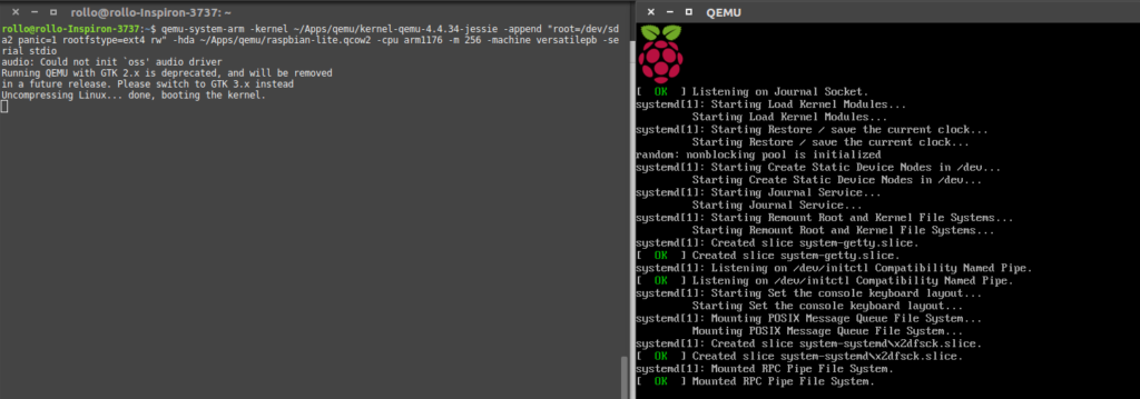 Run a virtualized image of Raspberry Pi in QEMU – Isaax Camp